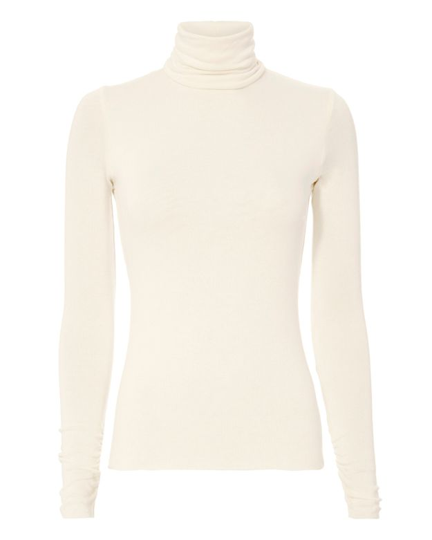 Twenty Stretchy Knit Turtleneck