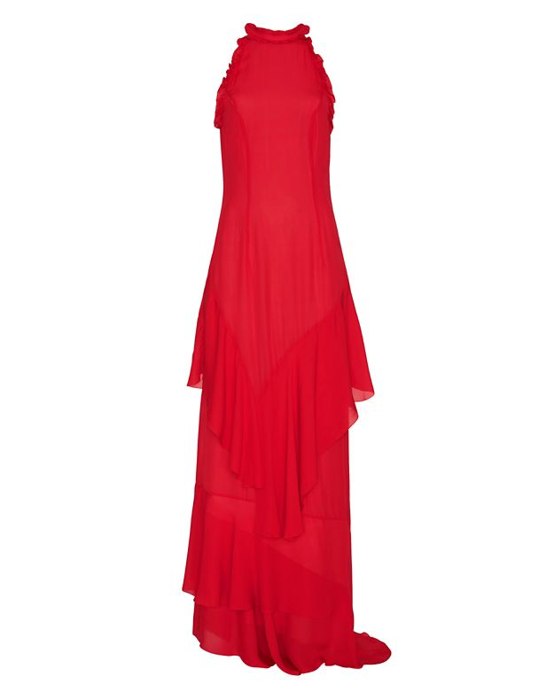 Exclusive for Intermix Stacie Ruffle Maxi Dress