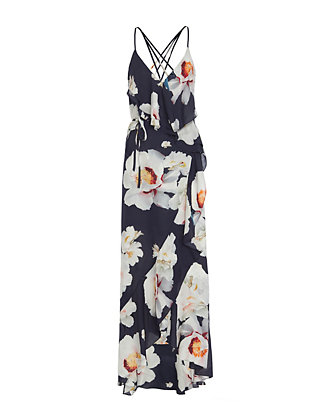 Exclusive for Intermix Barletta Print Maxi Dress