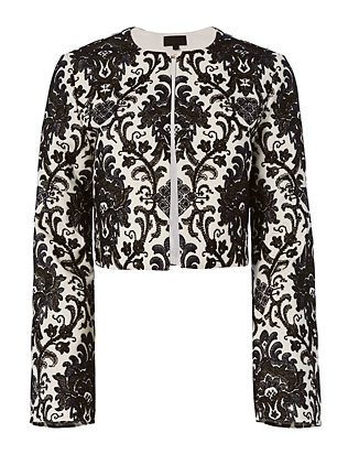 Exclusive for Intermix Tarek Embroidered Jacket
