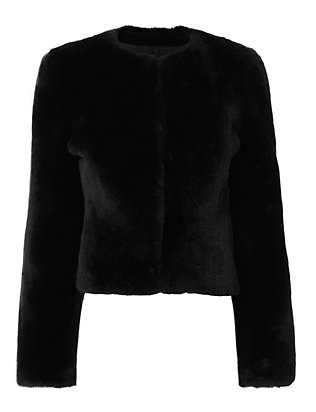 Mona Shearling Lamb Jacket