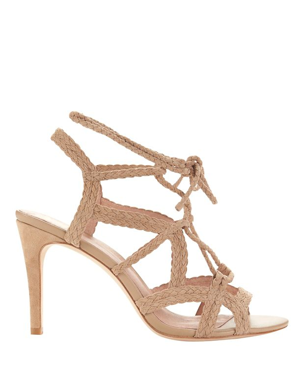 Joie Tonni Lace-Up Rope Suede Sandal