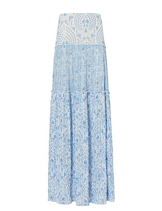 Exclusive for Intermix Cantrell Print Maxi Skirt