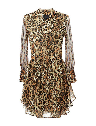 Exclusive for Intermix Tilley Leopard Print Dress