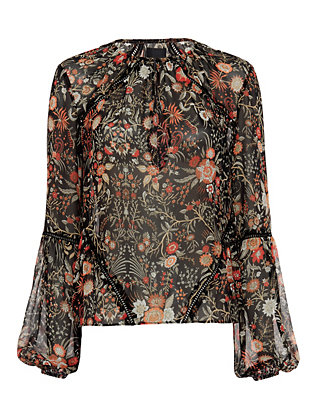 Exclusive for Intermix Mercer Embroidery Detail Blouse