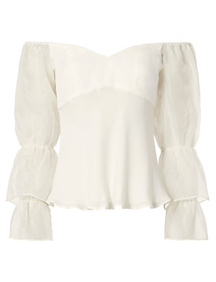 Exclusive for Intermix Amur Off The Shoulder Top
