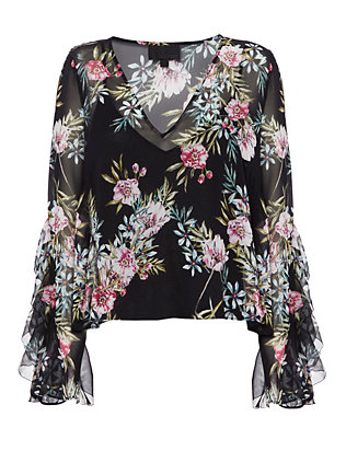 Exclusive for Intermix Caitlin Print Blouse