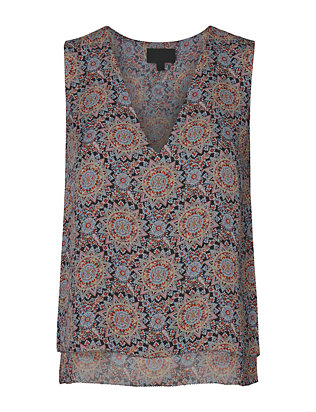 Exclusive for Intermix Bailey Printed Sleeveless Blouse