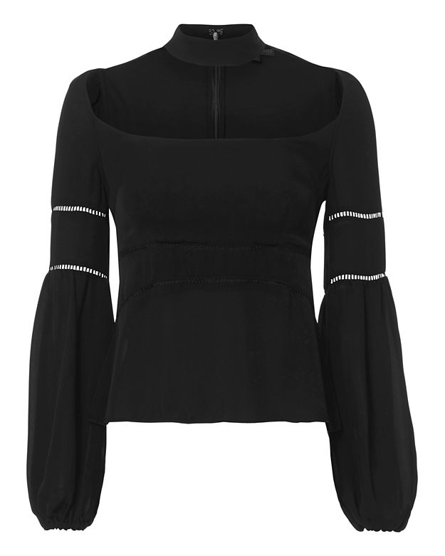 Exclusive for Intermix Primrose Choker Blouse