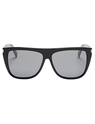 Flat Top Black Sunglasses