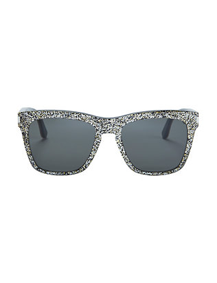 Saint Laurent Devon Glitter Sunglasses