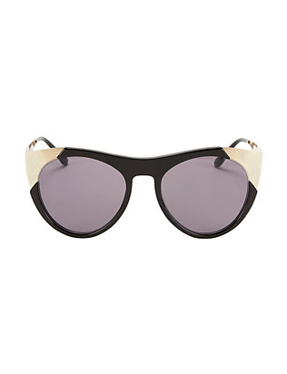 Smoke X Mirrors Zou Bisou Oversized Cat Eye Sunglasses