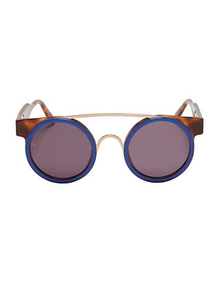 Soda Pop Blue Sunglasses