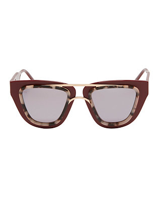 Soda Pop Burgundy Sunglasses