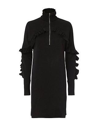 Soniah Zip Ruffle Dress