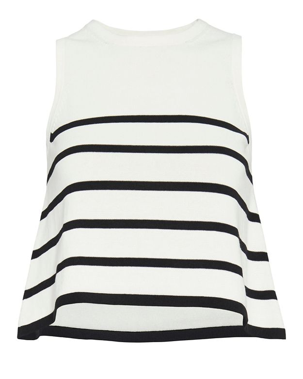 Cardigan EXCLUSIVE Striped Knit Tank
