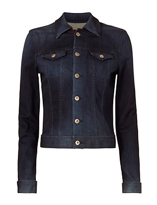 AG Dark Denim Jacket