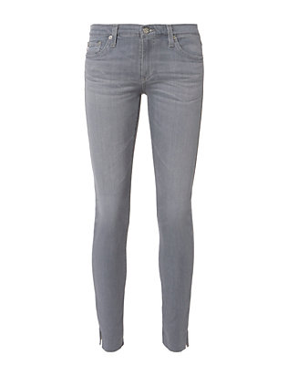 AG Super Skinny Grey Ankle Legging Jeans