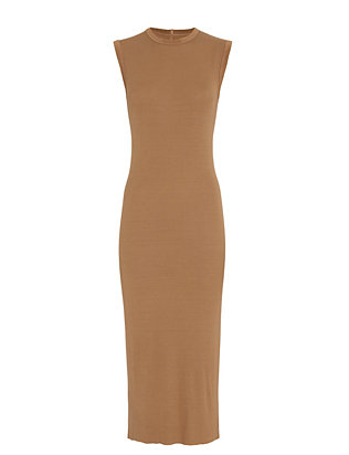 Enza Costa EXCLUSIVE Ribbed Maxi Dress