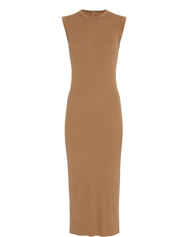 Enza Costa EXCLUSIVE Sleeveless Ribbed Dress