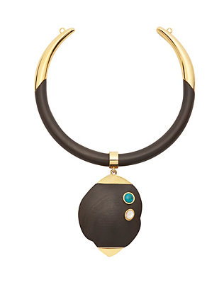 Lizzie Fortunato Golden Eye Collar
