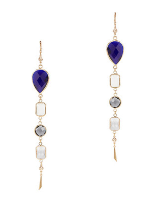 Haus of Topper Multicolor Crystal Chandelier Earrings