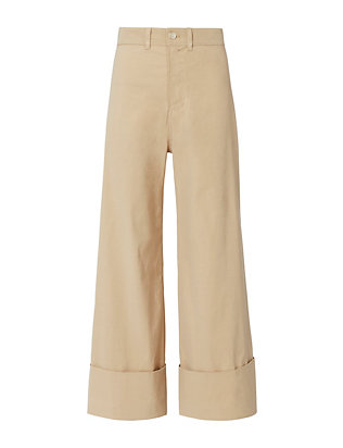 Sea Cuffed Khaki Pants