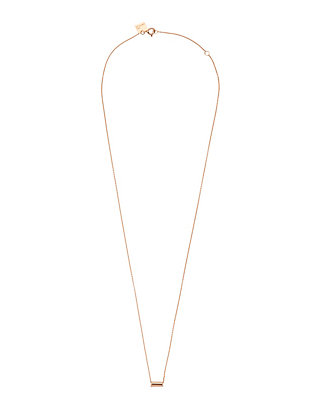 Ginette NY Mini Straw Pendant Necklace