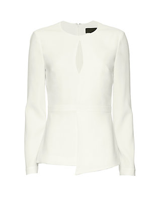 Exclusive for Intermix Geneva Crepe Blouse
