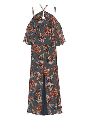 Exclusive for Intermix Aubrey Floral Print Maxi Dress