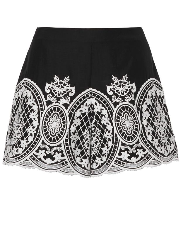 Exclusive for Intermix Autumn Embroidered Shorts