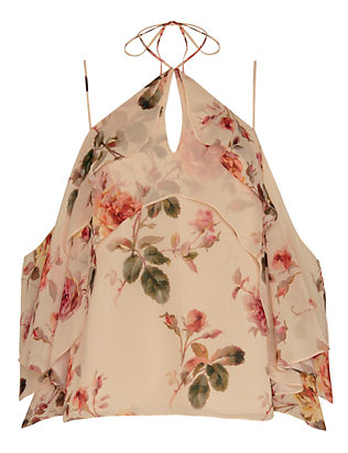 Exclusive for Intermix Ally Printed Floral Cami