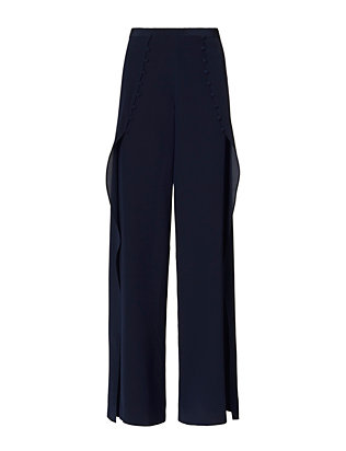 Exclusive for Intermix Charlotte Pant: Navy