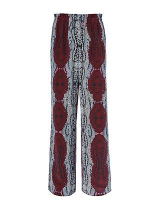Julien Side Slit Print Pants