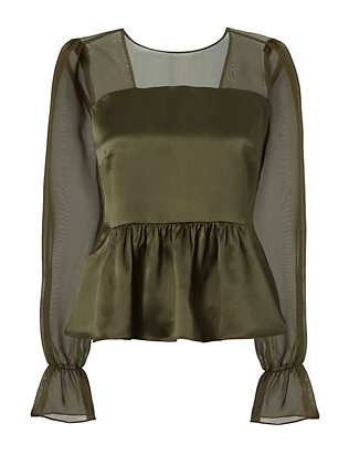 Mika Bow Back Blouse