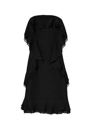 Lovell Ruffled Strapless Dress