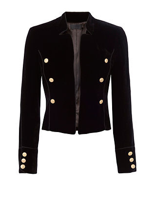 Exclusive for Intermix Gardot Velvet Blazer