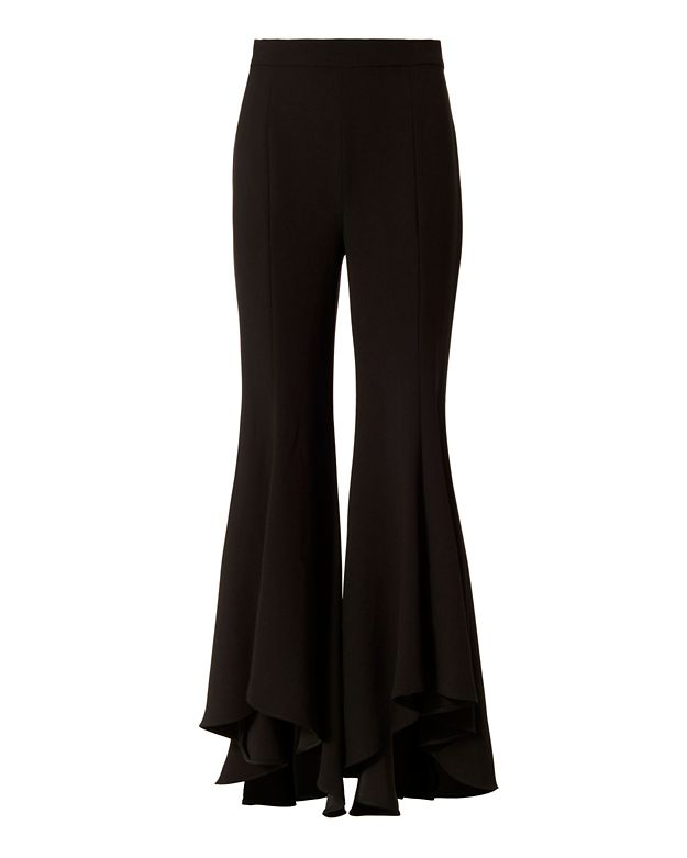 Exclusive for Intermix Zena Ruffle Crop Pants