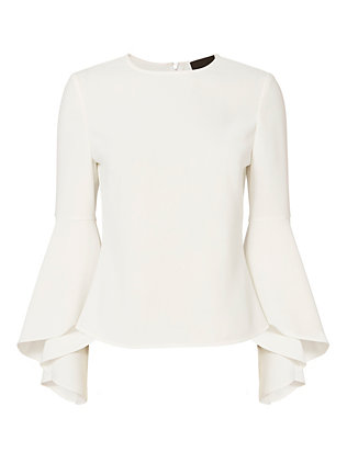 Exclusive for Intermix Cameron Long Sleeve Blouse