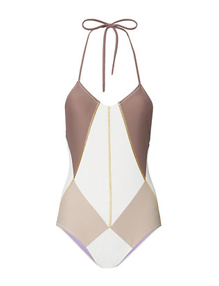 Isadora Halter Swimsuit- FINAL SALE