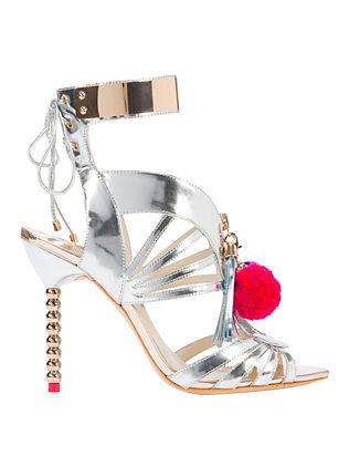 Yasmina Pom Pom Sandals