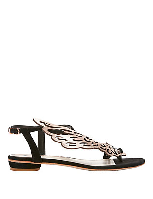 Sophia Webster Seraphine Angel Wing Flat Sandal