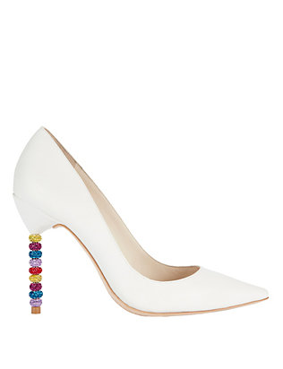 Sophia Webster Coco Crystal Heel Pump