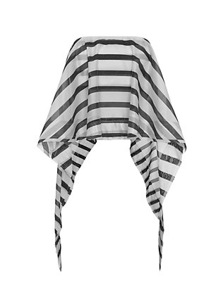 Nicholas Cascade Stripe Strapless Top