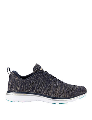 TechLoom Pro Midnight Metallic Knit Performance Sneakers