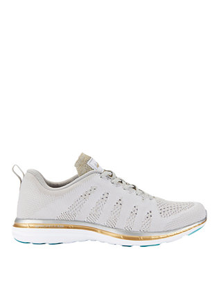 TechLoom Pro Metallic Melange Knit Performance Sneakers