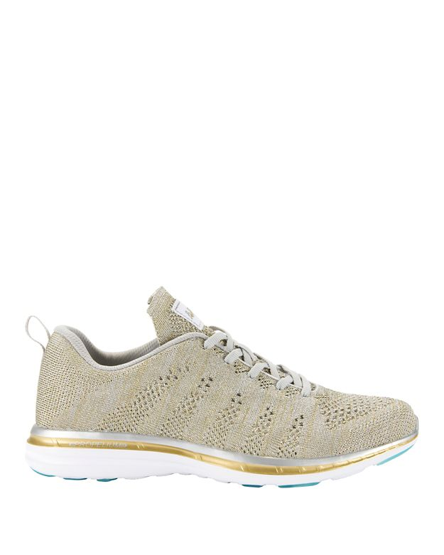 APL TechLoom Metallic Melange Knit Performance Sneakers