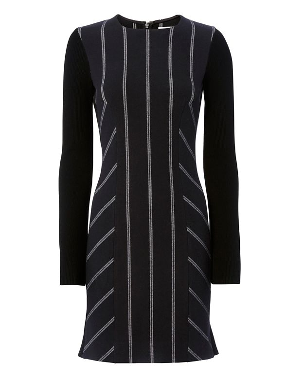 Derek Lam 10 Crosby EXCLUSIVE Godet Stripe Dress