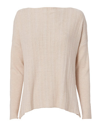 Derek Lam 10 Crosby Cross Back Lurex Sweater