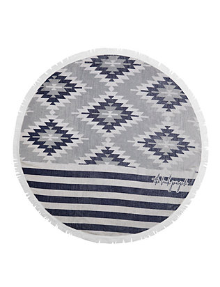 The Beach People The Montauk Round Towel